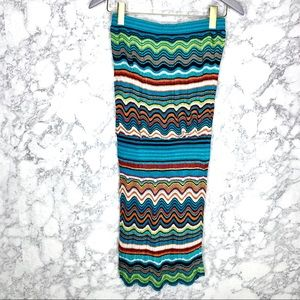 LAUNDRY BY SHELLI SEGAL | Colorful Strapless Dress